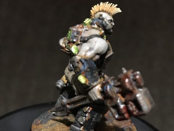 Necromunda Goliath Farbschema