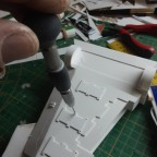 Flügel Unterseite / Raketenrack