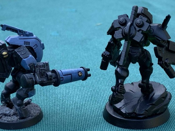 3D Druck Tau Commander