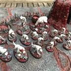 Khorne Demon Army converted