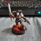 Ashen Sentinels - Captain mit Sprungmodul