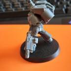 Ashen Sentinels - Captain mit Sprungmodul, Energieschwert und Kombimelter - WIP 02