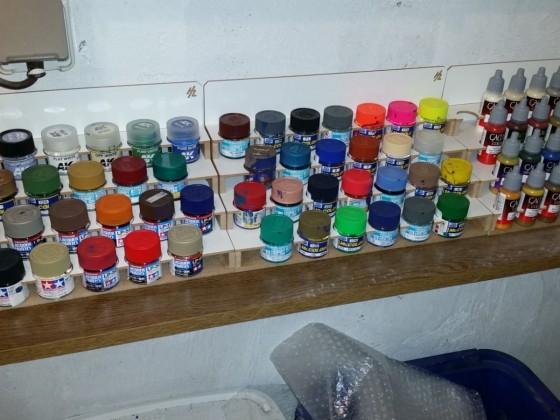 die ehemals abgestürzten farben