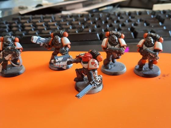 Ashen Sentinels - Taktischer Trupp - WIP 01