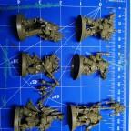 Space Marines Hoeroes 3 Assambled