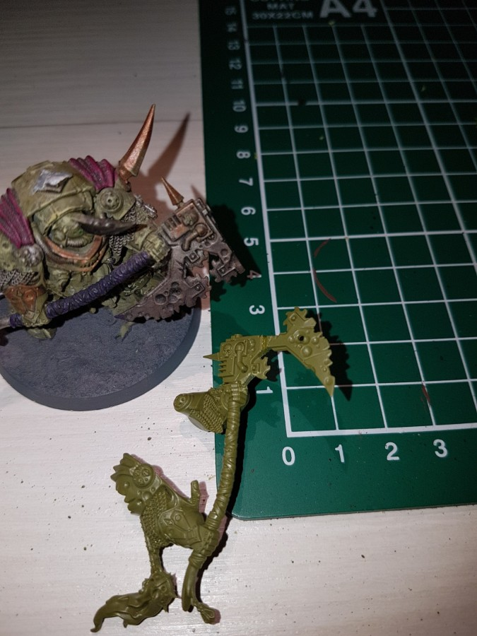Lord of Contagion with Manreaper 1